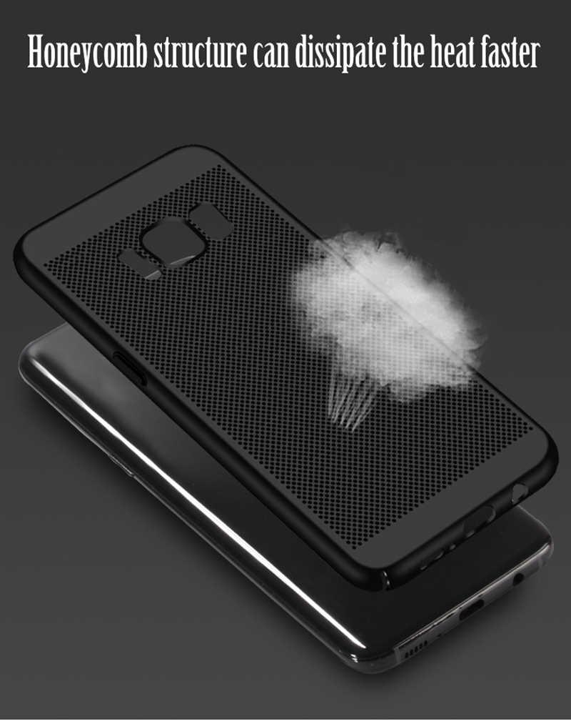 超薄型携帯電話ケース銀河 S5 ネオ S6 S7 エッジ S8 S9 プラスデュオスリム裏表紙ハードプラスチックケース Coque