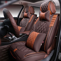 New 3D Sport Car Seat Cover General Cushion,Senior Leather,Car pad,Car Styling For BMW Audi HONDA CRV Ford Nissan Sedan SUV