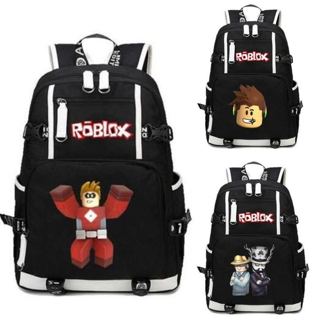 US $29 44 5% OFF|Roblox R Super Mario Bro Backpack Game Bag Students Book  Laptop Shoulder Travel Laptop Bag Cosplay Gift-in Backpacks from Luggage &