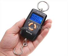 45kg 5g Pocket LCD Electronic Hanging Hook Fish Scale Double Precision Digital Kitchen Food Scales Weight Balance Steelyard