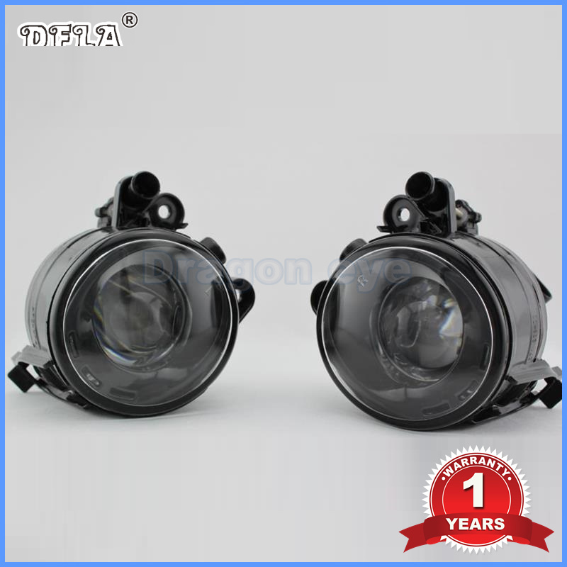 DFLA Car Light 2PCS For VW Golf 5 Golf MK5 2004 2005 2006 2007 2008 2009 New Front Halogen Fog Light Fog Lamp With Convex Lense for vw golf 5 2004 2005 2006 2007 2008 2009 high quality 9 led left side front fog lamp fog light