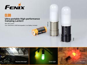 Image 2 - フェニックスCL09キャンプライト200ルーメンキャンプランタン機器ランプ