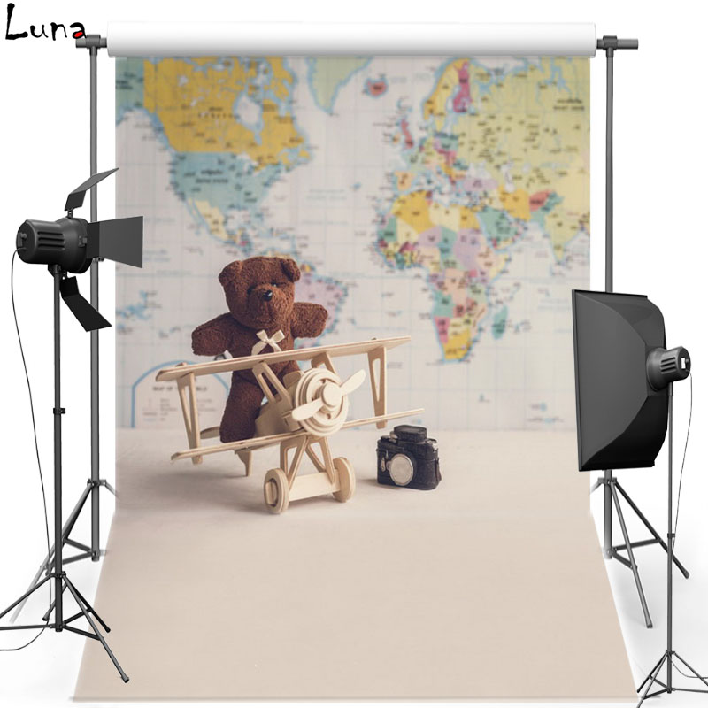 MEHOFOTO Map Wall Vinyl Photography Background For Children Doll Bear Photo New Fabric Flannel Background For Photo Studio 2385 yt0286 italy 2013 luca renaissance wall map 1 new 0521