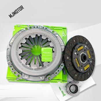3 шт./комплект, нажимная пластина сцепления/диск сцепления/релиз подшипника для китайского Chery Fulwin2 A5 E5 1.5L Enigne, детали автомобильного двигате...