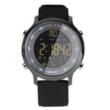 Bluetooth Relógio Inteligente EX18 5ATM À Prova D' Água Rastreador De Fitness Relógio de Pulso Para Ios Android Samsung Telefone DZ09 PK A1 T8 GT08 Y1 X6 V8