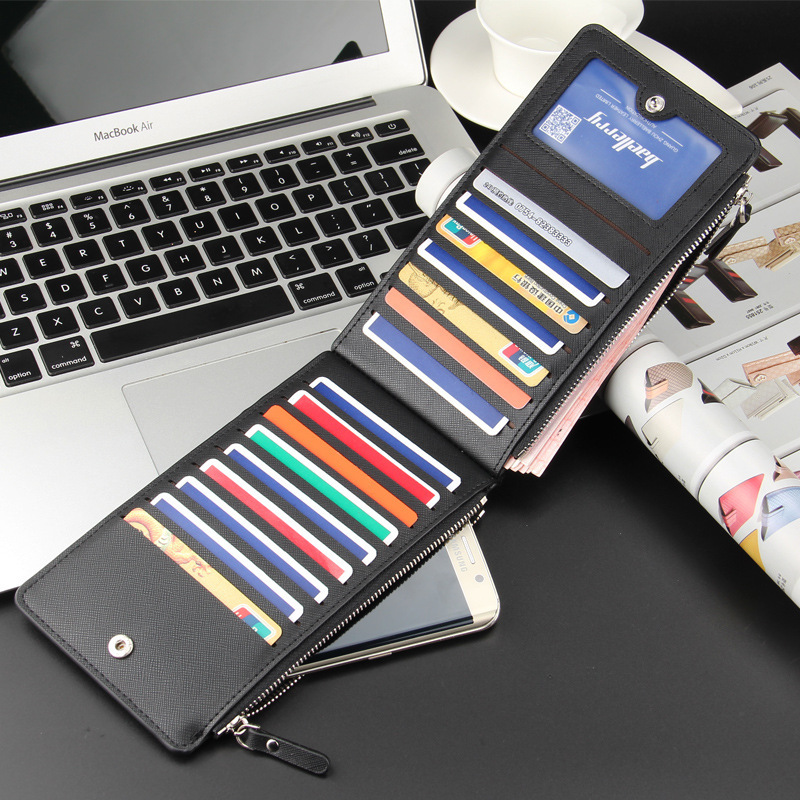Multifunction Ultrathin Pu Leather Credit Business Card Wallet ...