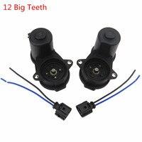 SCJYRXS 12 big/Small Teeth Rear Wheel Hand Brake Cylinder Servo Motor Twist Caliper+Cable Plug For A4 A5 Q5 32335478 8K0998281A