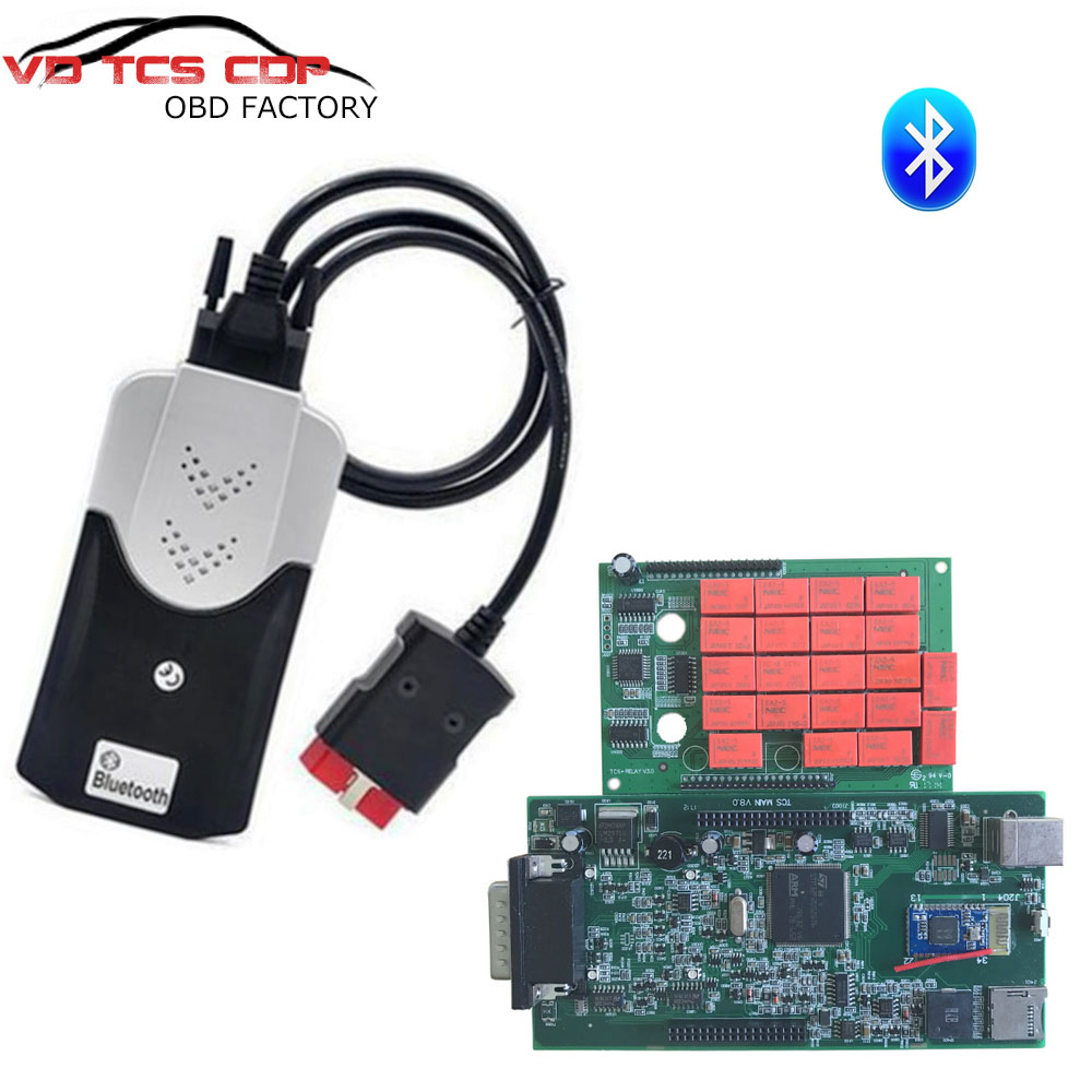 2018 Newest Green PCB with nec Japan relay 2015.3 R3/ 2016.00 R0 VD TCS CDP pro plus with Bluetooth Auto Car Diagnosis Equipment-in Car Diagnostic Cables & Connectors from Automobiles & Motorcycles    1