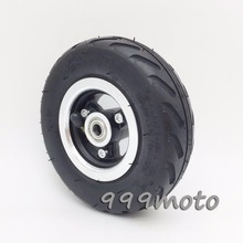 6 inch Tire 6X2 Bike Wheels setand Inner Tube for Electric Scooter Wheel Chair Truck Use 6 Tire Tyre F0 Pneumatic Trolley Cart