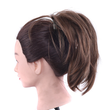 Ponytail Hair-Extensions Hairband-Accessories Flexible Inserting Synthetic-Hair-Pieces