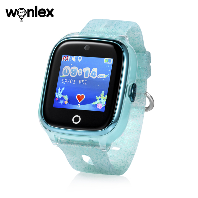 Wonlex Kids Smart Wifi Watch Waterproof IP67 Swimming Sporting Watch SOS Help GPS Positioning Wearable Anti-lost SeTracker KT01 3