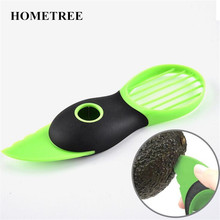 HOMETREE 1Pcs Artistic Avocado Melon Scoops Multifunctional Fruit Instruments Avocado Peeler Kitchen Sensible Handy Gadget H628