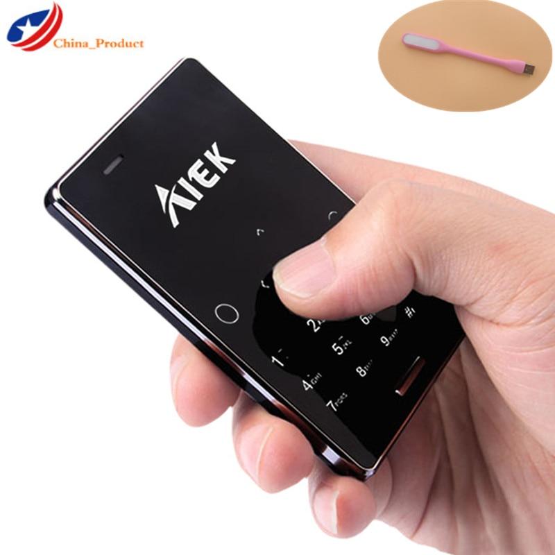 Aeku AIEK New M4-Card GSM Mini Phone Unlocked Ultra-Thin Children M5 Dual-Sim Original