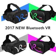 VR 2.0 Bluetooth 3d-очки Виртуальной Реальности очки google Картон с гарнитуры для iPhone & Android 4.7-6 Смартфон