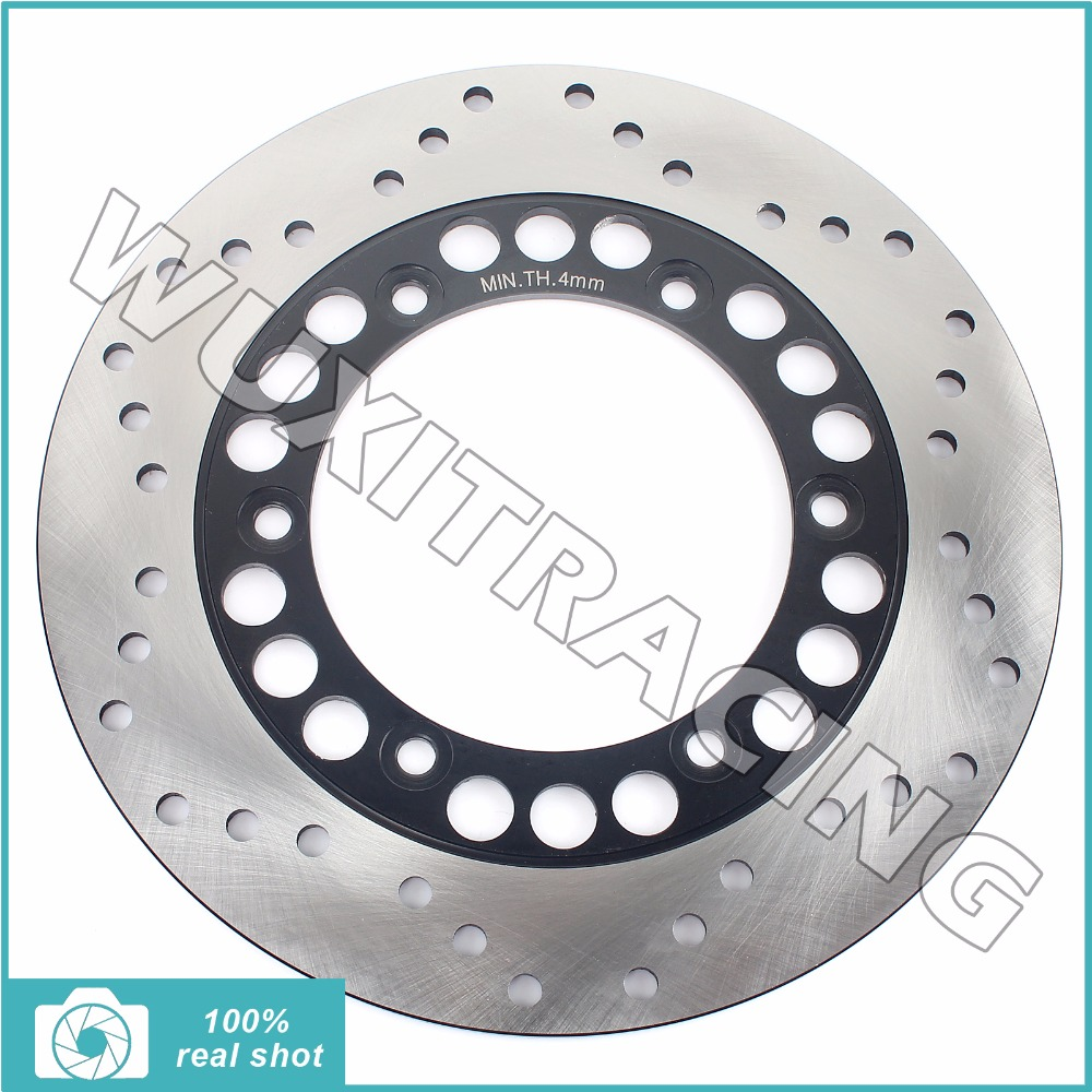 Rear Brake Disc Rotor for YAMAHA DT 200 230 WR Lanza 91-01 TT 250 R 93-04 WR 200 R 91-97 YP 250 Majesty DX de Luxe ABS SV 95-03 motorcycle rotor rear brake disc for yamaha yp 250 majesty mbk skyliner 1998 1999