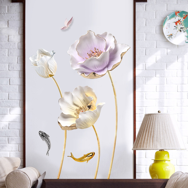 Flower 3D Set 70*110cm 4
