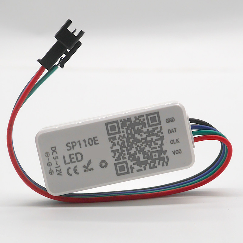 SP108E Wifi WS2811 WS2812B Led Music Controller SP107E SK6812 SP105E Bluetooth APA102 SP110E WS2801 Pixels Led Strip DC5-24V