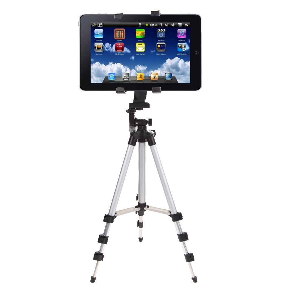 Professional Tablet Stand Camera Tripod Stand Holder For IPad 2 3 4 Mini Air Pro Protable Tripod For For Samsung /DSLR Camera