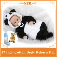 New Arrival 17 Baby Reborn Doll With Lovely Bear Clothes New Design Benecas Bebe Reborn Best
