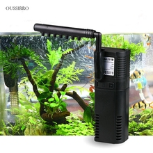 OUSSIRRO SUNSUN Internal Filter  Mini Nano  Building Submersible Adding Oxygen Pump For Fish Turtle Water Plant Tank Aquarium