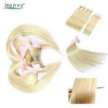 IEnvy 4 Blonde 613 Bundle Con Frontale Etero Biondo Platino Bundle Con  Chiusura tessuto Brasiliano Dei e93528f52e5b