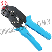 OMY New Portable European Style Crimper 0 5 6sq Mm Ratchet Crimping Tool Plier For Insulated