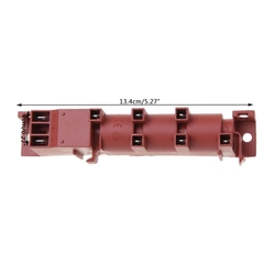 220 240V AC Pulse Ignitor kuchenka z sześcioma przyłączami terminalowymi urządzenie zapłonowe|Części do kuchenek|AGD -