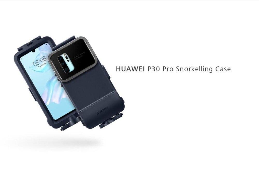 HUAWEI P30 Pro étui de plongée avec tuba étui de protection étanche Original P30 Pro poche de tir sous-marin nouveau 2019