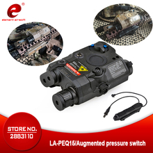 цена на Element Airsoft LA PEQ15 Red Dot Tactical Weapon Flashlight PEQ Laser Softair Peltor Remote Switch Pressure Light Double Control