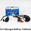 Для Volkswagen VW Multivan T5/Калифорния/RCA AUX Проводной или Беспроводной Заднего Вида Камеры/HD Ночного Видения Автомобиль Поддержка Камеры