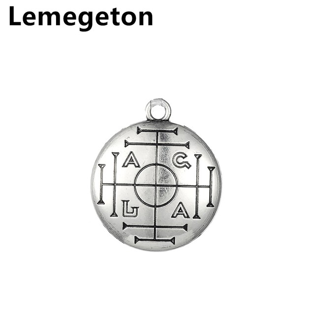 Lemegeton Medieval Talisman For Wealth Hesperian Magic Alchemy