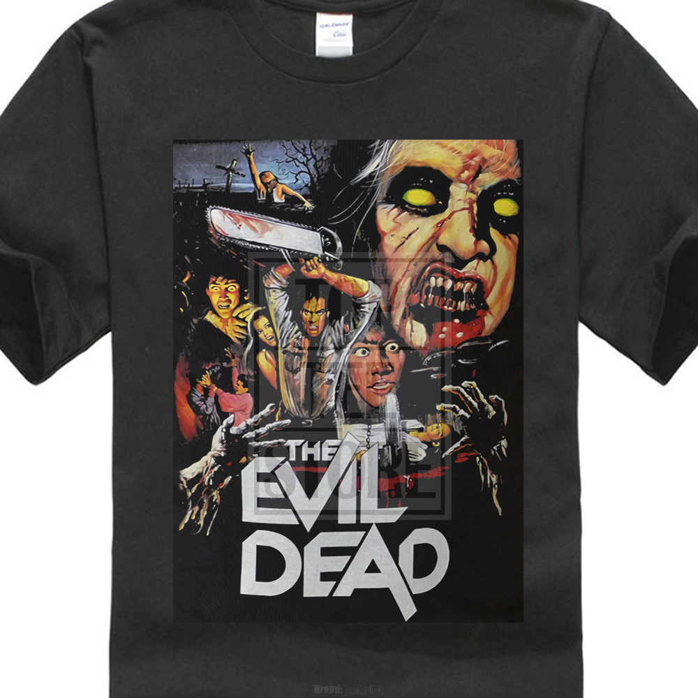 The Evil Dead 1981 Film Poster T Shirt