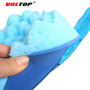 Image 3 - VOLTOP Cleaning Tool Washing Brushes Car Accessories Triangular Wave Sponge Brush Home Office Auto Soft Water Absorption