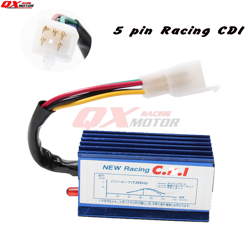 Pit Bike 5 Pin Race Cdi Unit Electrical Wiringstator Mini Bike - Go New Racing Cdi Wiring Diagram Tzr on