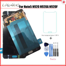 For samsung galaxy note 5 original LCD For Samsung note 5 N920 N920G N920C N920I LCD Display Touch screen Digitizer Assembly стоимость