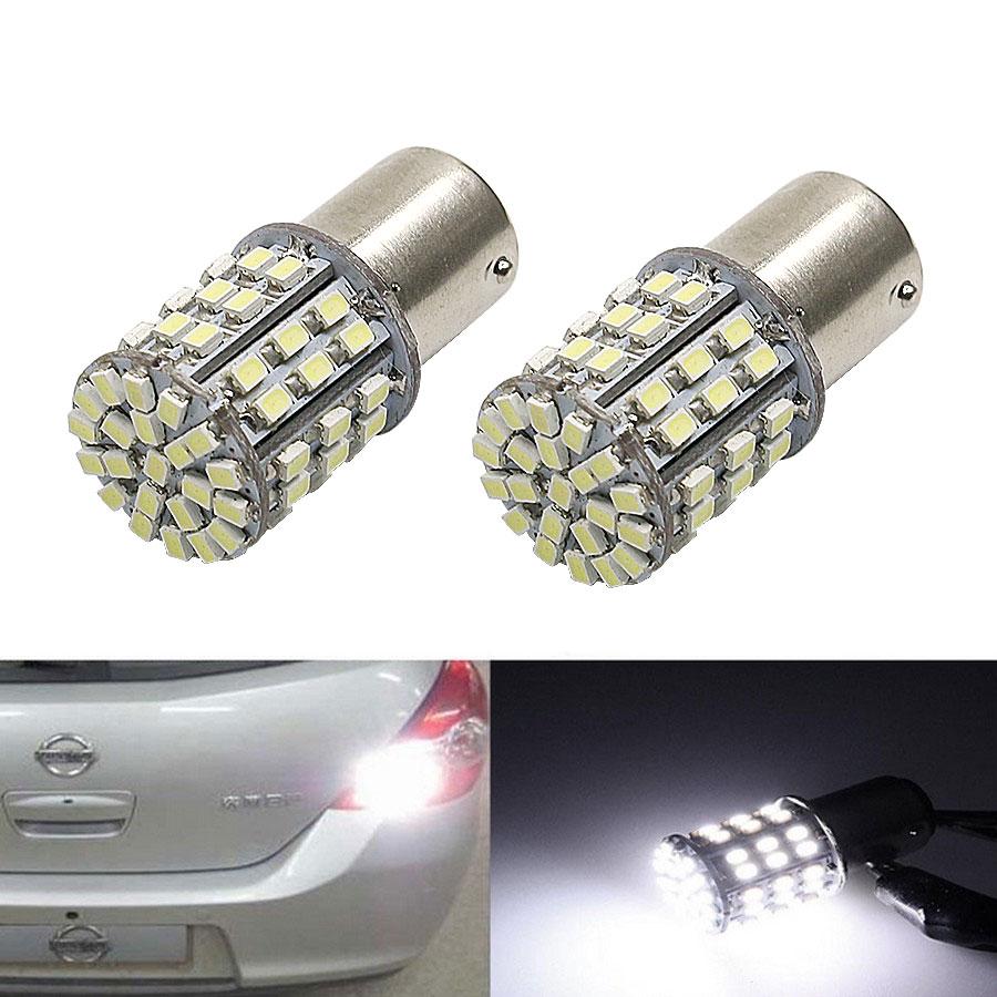 12 В 1156 3020 64 SMD светодиодные лампы белого света автомобилей Источник света авто заднего тормозной сигнал поворота свет лампы 2шт/много высокое качество