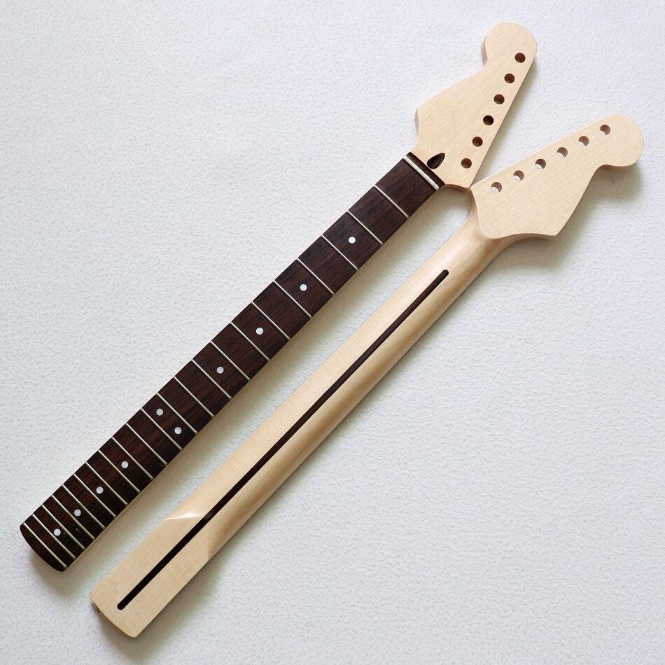 diy guitar kits nitro finished left handed rosewood fingerboard canadian maple st guitar neck. Black Bedroom Furniture Sets. Home Design Ideas