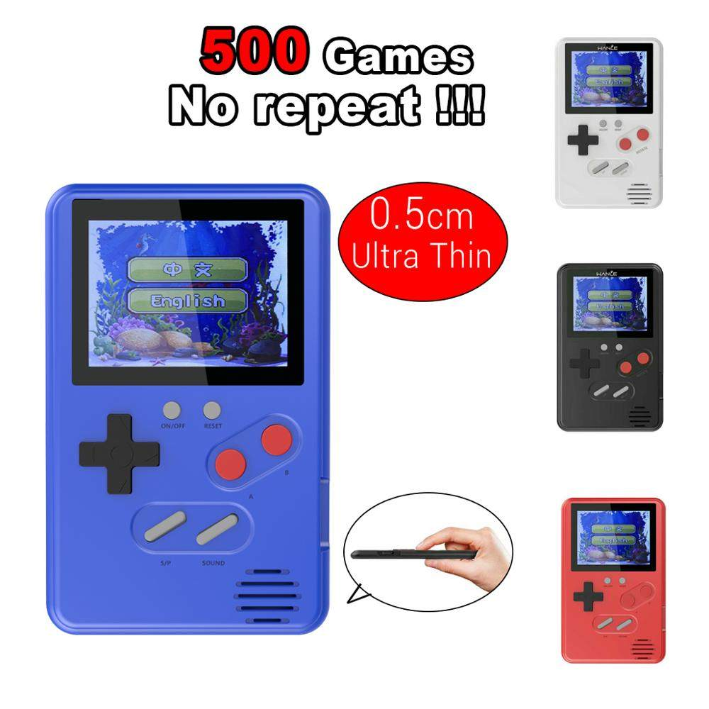 Free Shipping Mini Retro Game Console with 400 Free Games Video Game Player  for 8 BIT games support TV Out