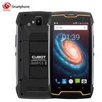 Original Cubot Kingkong MT6580 Quad Core Cell Phone Android 7.0 Smartphone 2GB RAM 16GB ROM IP68 Waterproof Unlock Mobile Phone