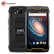 Original Cubot Kingkong MT6580 Quad Core Cell Phone Android 7.0 Smartphone 2GB RAM 16GB ROM IP68 Waterproof Unlock Mobile Phone(China)