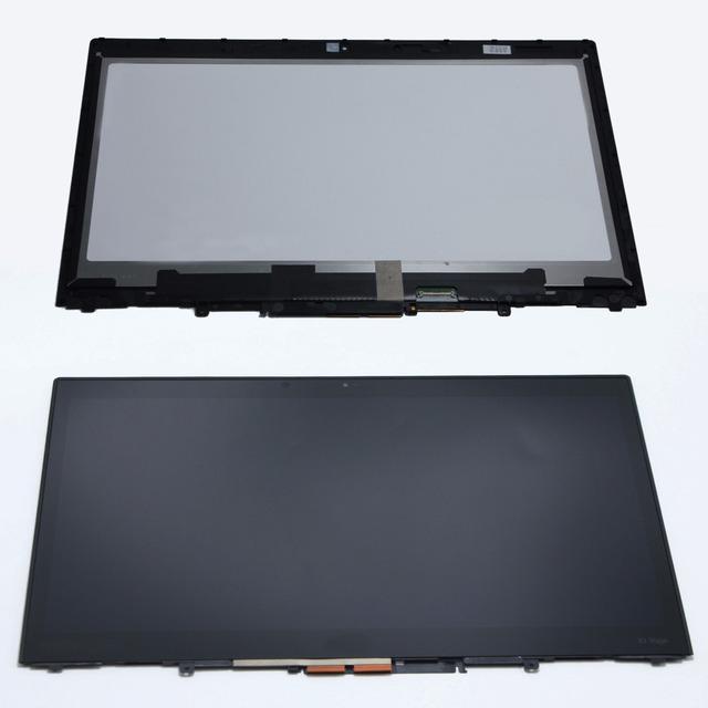14 ''ips pantalla táctil lcd ensamblaje de la pantalla digitalizador + bisel mate vvx14t058j lp140qh1. spe1 para lenovo thinkpad x1 yoga 20fq000qus