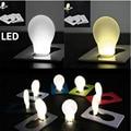 Portable LED Card Pocket Light bulb Lamp Wallet Size New Design nightlight children's led night light mini night lights
