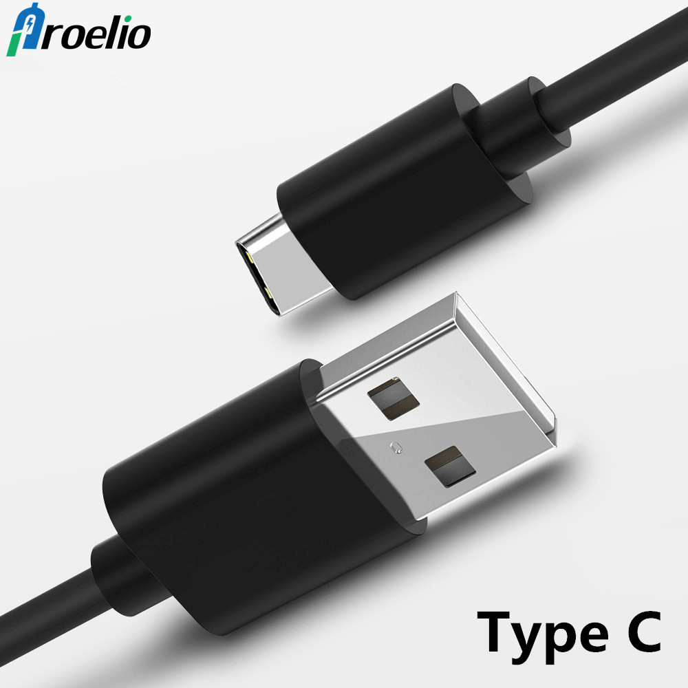Hot 1M USB Type C Cable Type-C Cable for Samsung Gaxaly S8 S8 Plus Huawei Meizu Xiaomi mi6 mi5 mi4 oneplus 5 USB-C Charger Cable