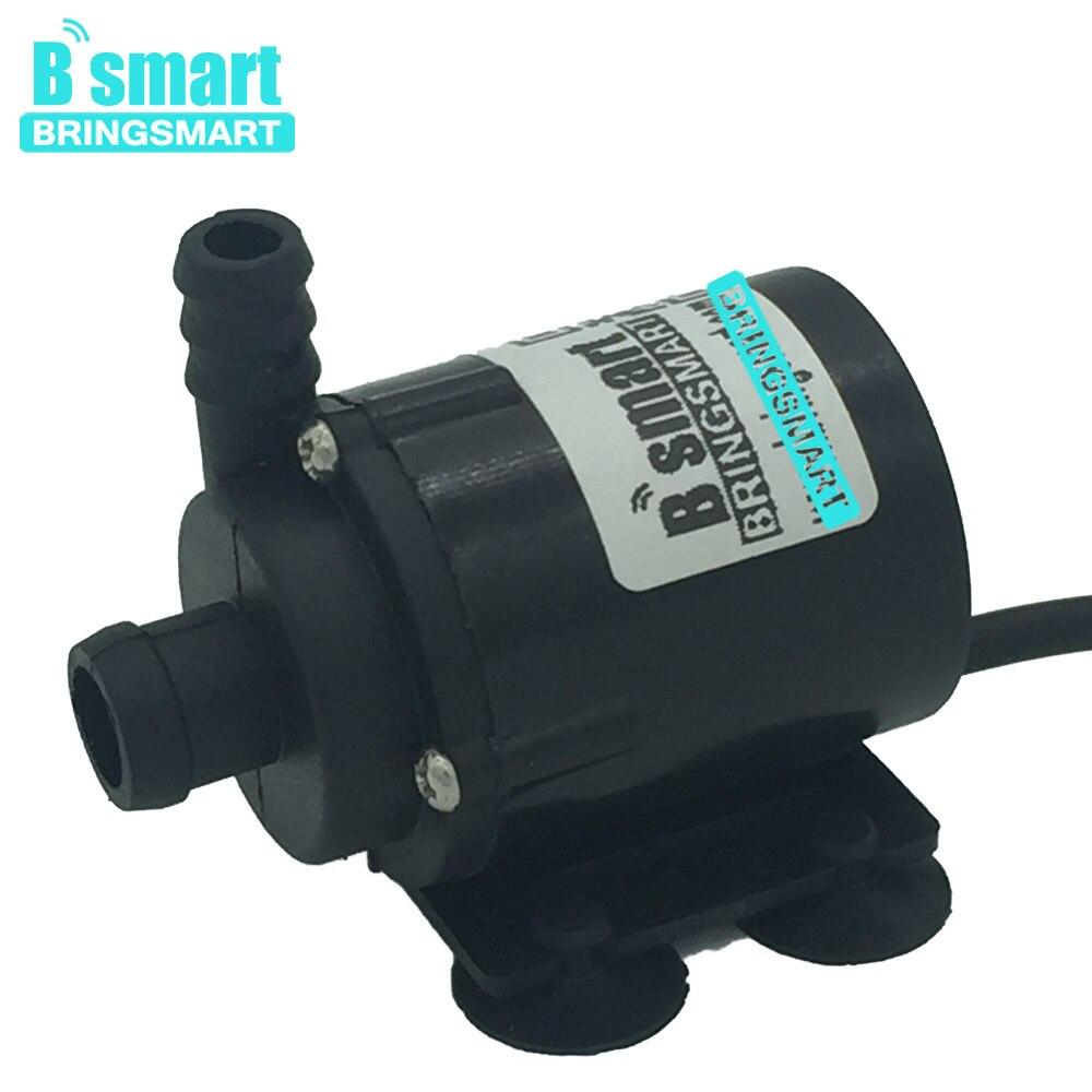 Sanitär Ausdrucksvoll Bringsmart Sr-160b Micro Wasserpumpe 200l/h 2,1 Mt Bürstenlosen 6 V 12 V Tauch Aquarium Aquarium Brunnen Pumpe Dc
