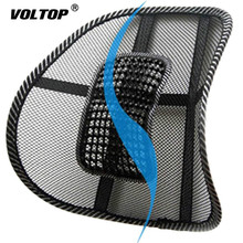 Chair Back Support Car Seat Pillow Cushion Mesh Relief Lumbar Brace Office Home Cushion Seat Chair Lumbar Back Support universal back waist brace support car back cushion car back seat support seat supports car styling lumbar pad