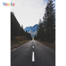 Yeele Forest Mountains Photography Backdrops Highway Road Room Decoration Scenery Photographic Backgrounds For The Photo Studio