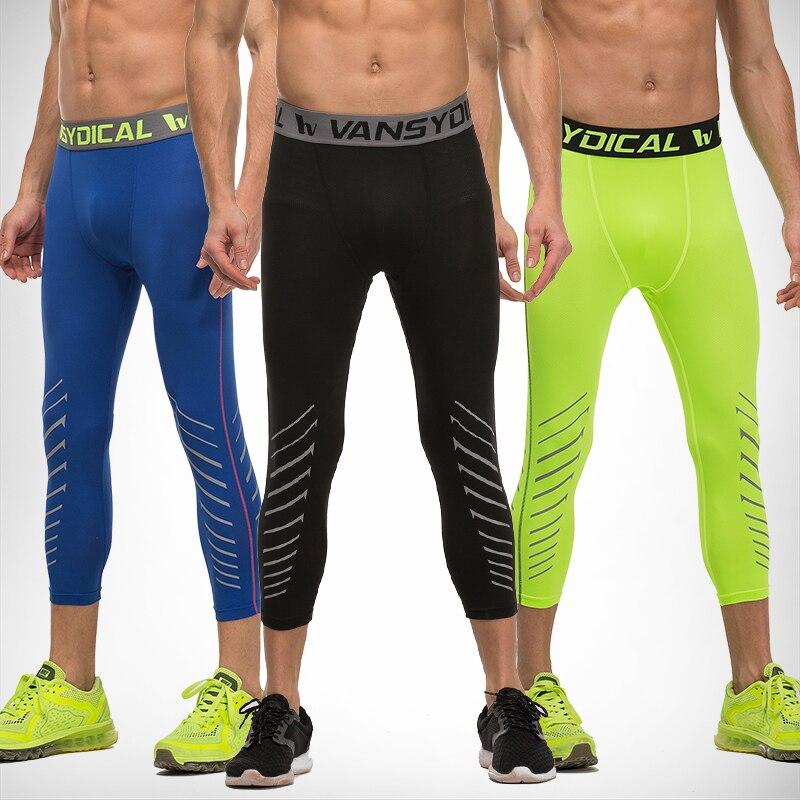 2xl Hombres Mallas Elastico Transpirable Delgado Tres Cuartos Ejercer Pantalones Para Baloncesto Negro Pantalones Hombre