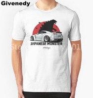 Nissan GTR. Monstruo japonés Mens & Womens casual cuello redondo T camisa Linda camiseta