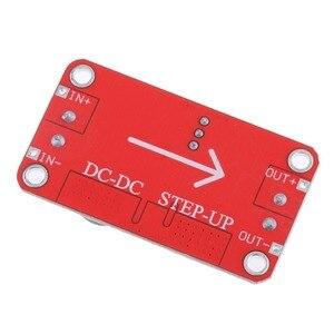 Image 5 - XL6019 Otomatik step up Dc dc Ayarlanabilir Dönüştürücü Güç Kaynağı Modülü 20W 5 32V 1.3 35V