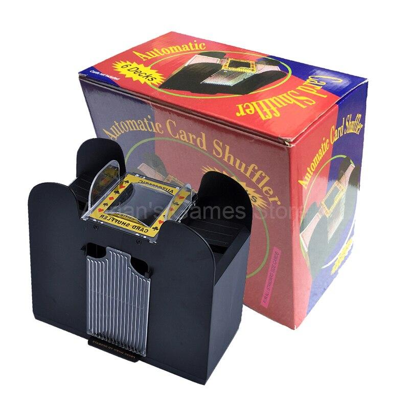 6 Étages Avancé Casino Robot Cartes À Jouer Shuffler de Carte De Poker Shuffler Automatique Machine Brouillante